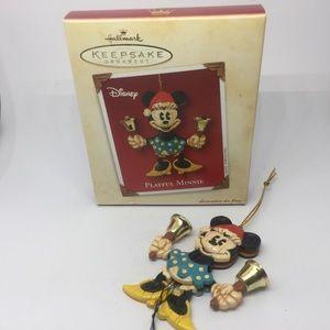 Disney Hallmark Keepsake Ornament Moveable Playful